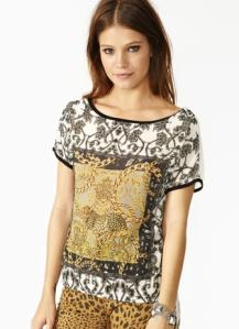 nastygal, Chain Reaction Top, baroque style, baroque fashion, gold top, chain top, fall fashion