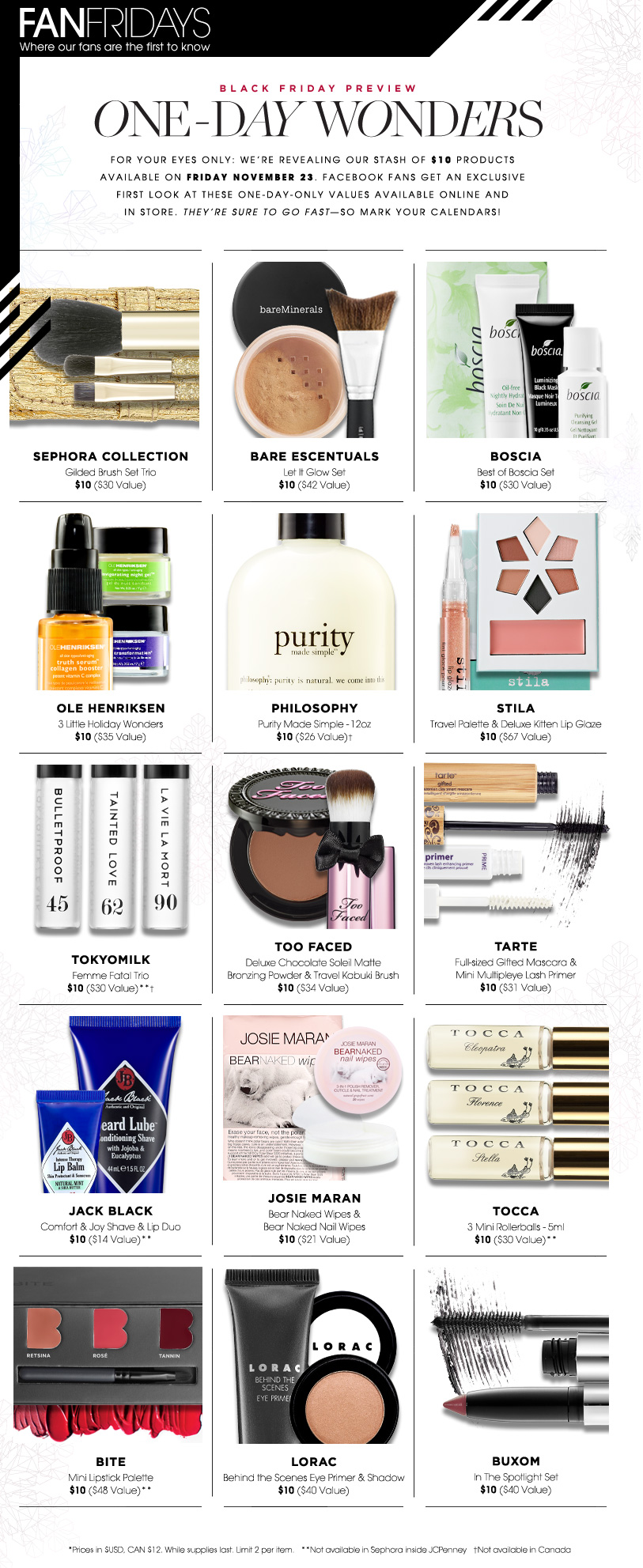 sephora Black Friday, black friday specials, sephora sale, sephora black friday sale, black friday deals, best black friday sale, makeup black friday, black friday gifts, holiday gift guide, gifts for a fashionable girl, makeup gifts, makeup sale