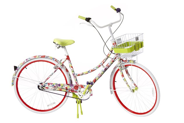 alice and olivia for target, alice and olivia neiman marcus, alice and olivia bike, flower bike, girly bike, alice and olivia, neiman marcus target collection