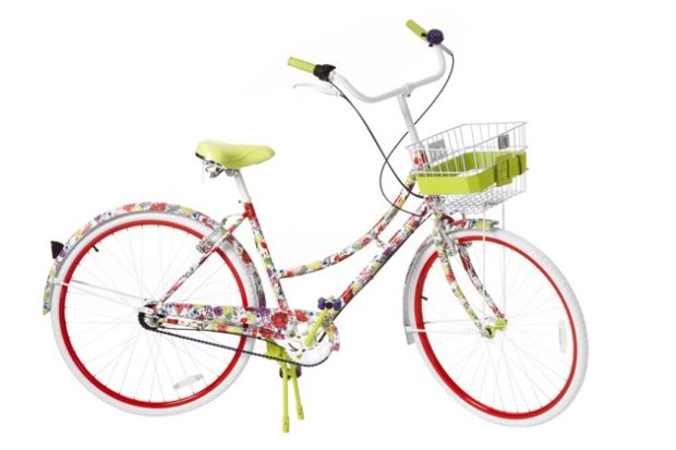 alice and olivia for target, alice and olivia neiman marcus, alice and olivia bike, flower bike, girly bike, alice and olivia, neiman marcus target collection