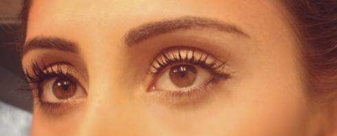 perfect eyelashes, how to have perfect eyelashes, long eyelashes, YSL mascara, Benefit mascara, They're Real mascara, Faux Cils mascara, black mascara, big eyes