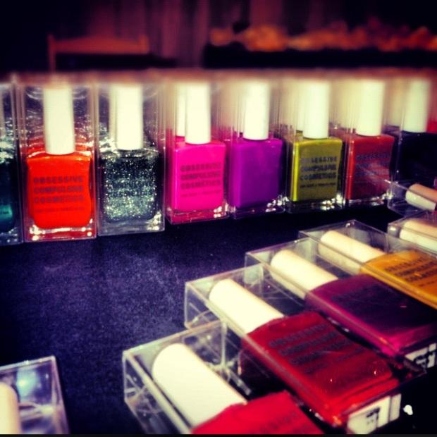 OCC Nails, Obsessive Compulsive Cosmetics Nail polish, Obsessive Compulsive Cosmetics, OCC Nail polish in Strumpet, OCC nail polish in Cruising, Gold nailpolish, occ nails review, occ nails beauty trend, two toned nailpolish
