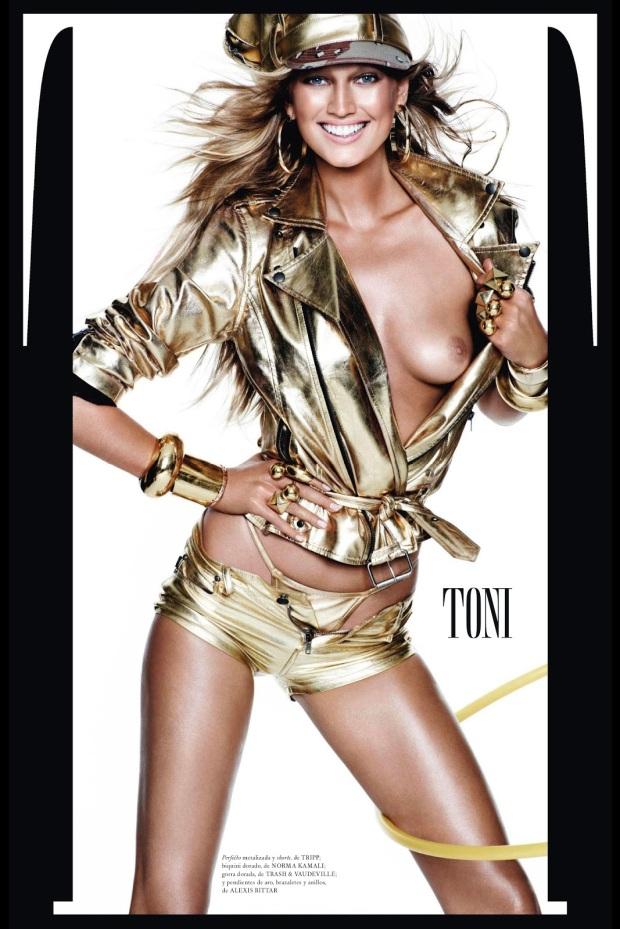 Toni Garrn, Toni Garrn vogue espana, Toni Garrn mario testino, mario testino vogue espana, vogue espana december 2012