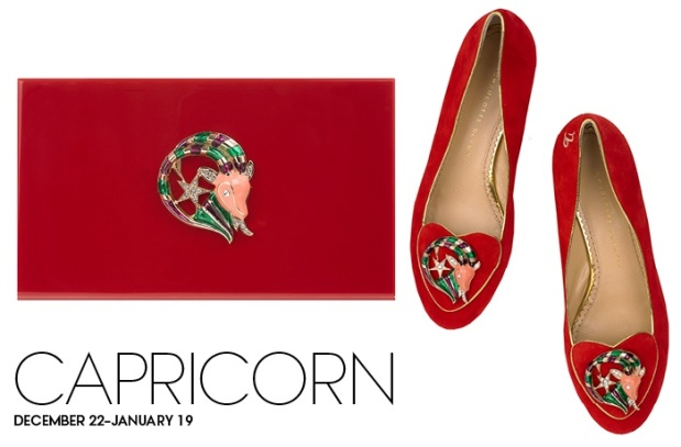 Charlotte Olympia Birthday Shoes Capricorn