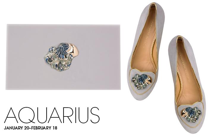Charlotte Olympia Birthday Shoes Aquarius