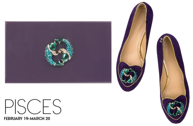 Charlotte Olympia Birthday Shoes Pisces