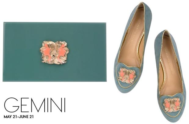 Charlotte Olympia Birthday Shoes Gemini