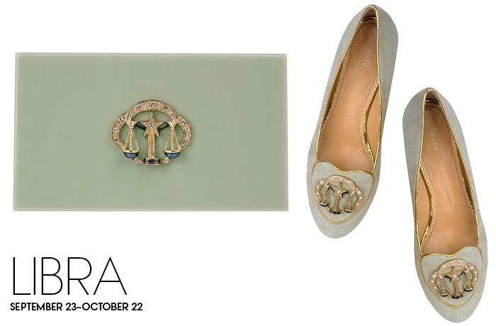 Charlotte Olympia Birthday Shoes Libra