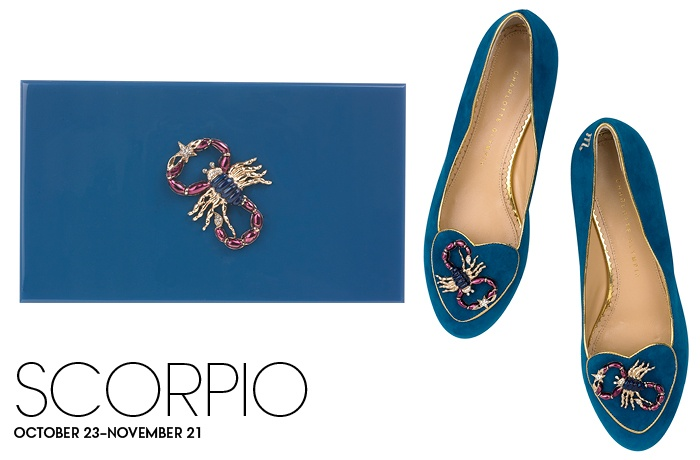 Charlotte Olympia Birthday Shoes Scorpio