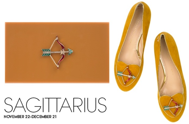 Charlotte Olympia Birthday Shoes Sagittarius