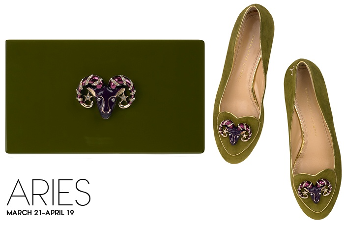 Charlotte Olympia Birthday Shoes Aries