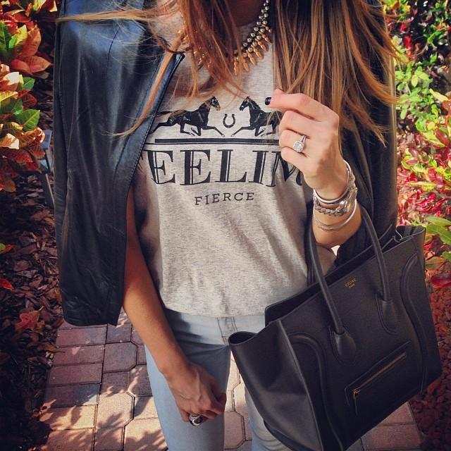 Fashion Blog, Best Fashion Blog, Top Fashion Blog, Fashion Looks, Brazilian Blog, Printed T shirt Look, Leather Jacket Look