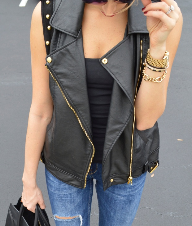 leather vest, kurt geiger, forever21, zara, fashion blog, best fashion blog, top fashion blogger, best fashion blogger