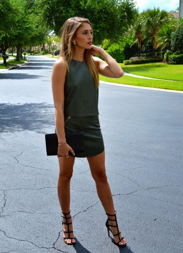 super fashionable, super fashionable blog, ananda saba, bcbgeneration, zara leather outfit