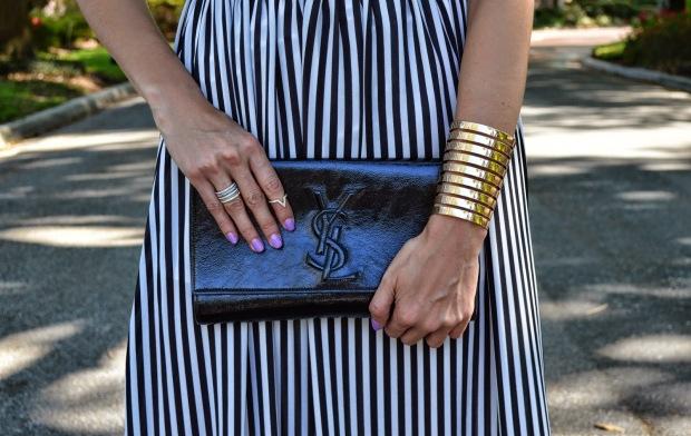 fashion blog, fashion blogger, best fashion blog, henri bendel ring, YSL Belle de Jour clutch, saint laurent clutch, opi do you lilac nails